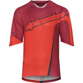 Alpinestars Crest Bike Jersey Shortsleeve Men red